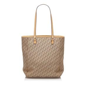 Dior Oblique Canvas Tote Bag