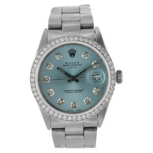 Rolex Date 1500 34mm Womens Watch