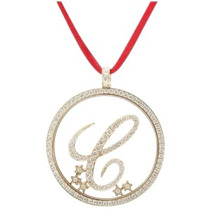 Chopard 796578/01-20 18K Yellow Gold Diamonds Necklace