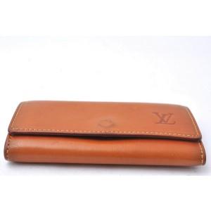 Louis Vuitton Nomade Multicles 4 Four Hooks Key Case Brown