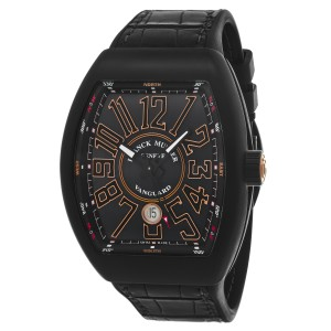 Franck Muller Vanguard 45SCBLKBLKGLD Watch