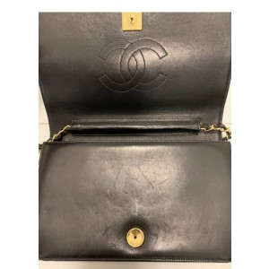 Chanel timeless shoulder/clutch bag