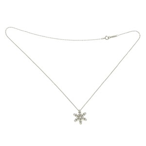 7b323abba Tiffany & Co. Platinum Diamond Snowflake Necklace |Tiffany & Co ...