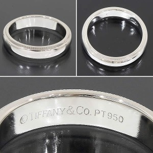 Tiffany & Co. Platinum Ring Size 5.75