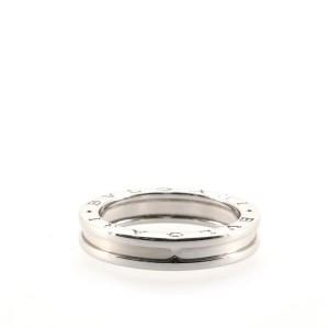 Bvlgari B.Zero1 One Band Ring 18K White Gold 9 - 60