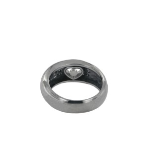 Chopard Happy Diamond Love White Gold Ring size 6.5