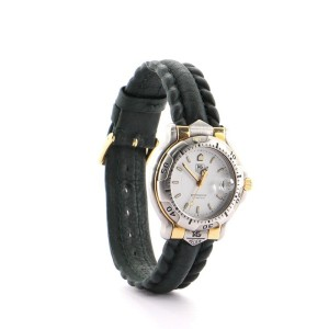 Tag Heuer Professional 6000 Quartz Watch Watch Stainless Steel with Plated Metal and Leather 34