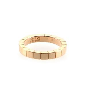 Cartier Lanieres Ring 18K Yellow Gold 4.75 - 49