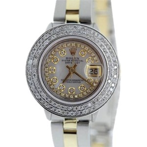 Rolex Datejust Stainless Steel & Yellow Gold Watch 26mm