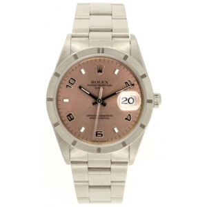 Rolex Date 15210 Stainless Steel Automatic 34mm Mens Watch