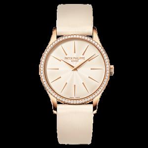 Patek Philippe 4897R 010 Rose Gold Ladies Calatrava Watch