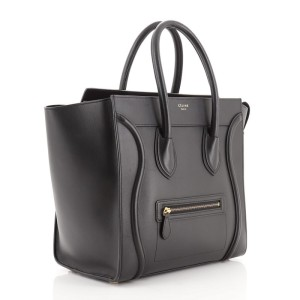 Celine Luggage Bag Smooth Leather Mini