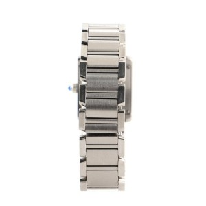 Cartier Tank Francaise Quartz Watch Stainless Steel 20