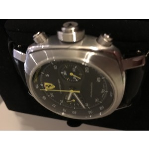 Panerai Ferrari FER00008 Stainless Steel & Leather 45mm Watch