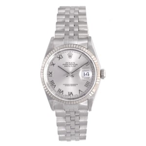 Rolex Datejust 16234 Stainless Steel 36mm Mens Watch