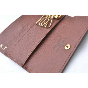 Louis Vuitton Monogram Multicles 4 Four Hooks Key Case M62631