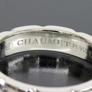 Chaumet Pt950 Platinum Band Ring
