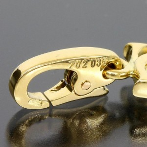 Cartier 18K Yellow Gold CC Motif Charm