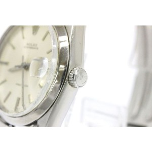 Rolex Oyster Date Precision 6694 Stainless Steel Hand Winding Mens Watch