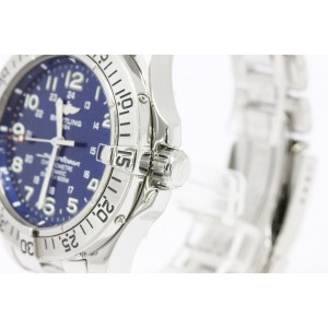 Breitling Super Ocean Stainless Steel Automatic Mens Watch