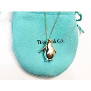 Tiffany & Co. Silver Penguin Pendant Necklace