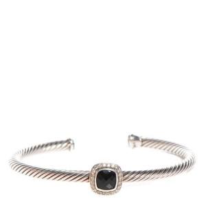 David Yurman Cable Bracelet with Black Onyx and Diamonds