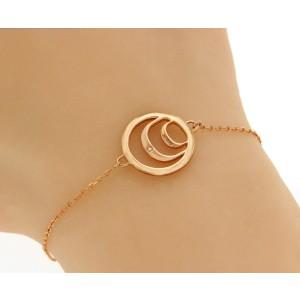 Damiani Damianissima 9K Rose Gold & Diamond Bracelet