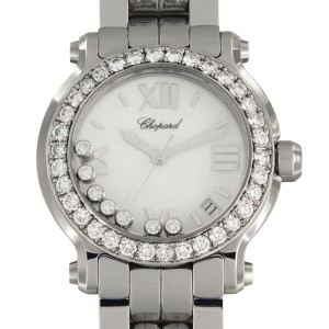 Chopard Happy Sport Floating Diamonds 8475 36mm Mens Watch