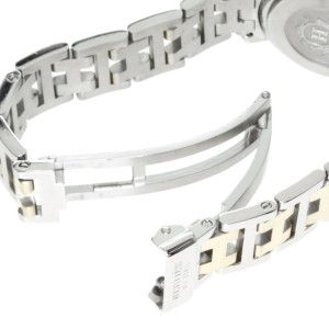 Hermes Clipper CL4220 Stainless Steel / Gold Plated 24mm Womens Watch