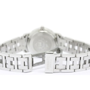 Hermes Clipper Stainless Steel Quartz 24mm Womens Watch