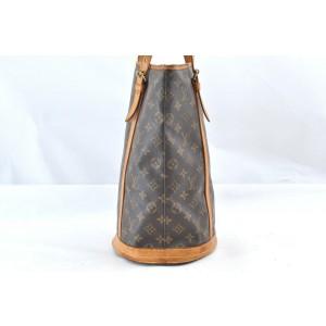 Louis Vuitton Monogram Bucket GM Shoulder Bag M42236