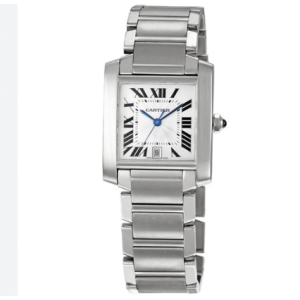 Cartier 2302 Tank Francaise Stainless Steel Large 36.5mm Watch