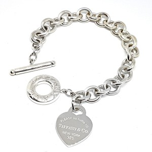 Tiffany Heart Tag Toggle Bracelet