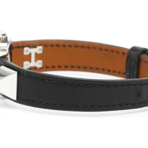 HERMES ME2.110 Medor Stainless steel Leather Mini Quartz Watch