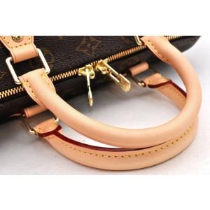 Louis Vuitton Monogram Speedy Bandouliere 25 Hand Bag M41113 LV 97106