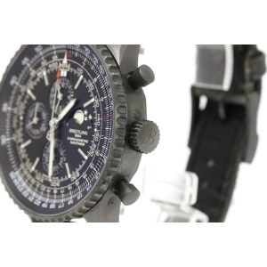 Breitling Navitimer M19380 Black Stainless Steel Automatic 48mm Mens Watch
