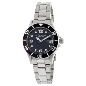 Stuhrling Clipper 157.111113 Stainless Steel 33mm x 36mm Watch