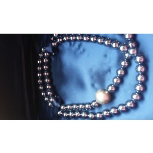 Tiffany & Co. Sterling Silver & Hematite Paloma Picasso Necklace