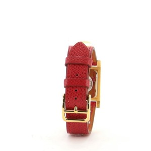 Medor Quartz Watch Plated Metal and Leather 23
