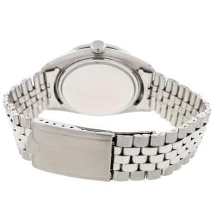 Rolex Datejust 36MM Automatic Stainless Steel Jubilee Mens Watch w/MOP Diamond Dial & 1.1CT Bezel