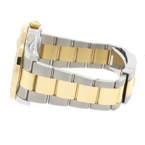 Rolex Datejust II 2-Tone 18K YG/SS 41MM Mens Watch 116333 with 4CT Diamond Bezel