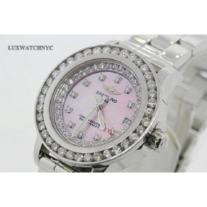 Breitling Colt 33 Diamond Womens Watch