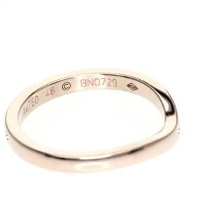 Cartier 18K Pink Gold Ballerina Wedding Ring Size 4.5