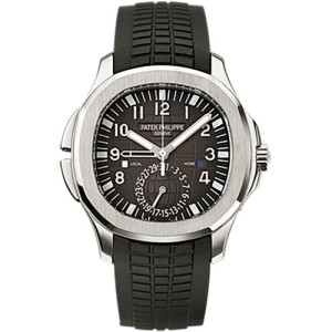 Patek Philippe Aquanaut 5164A-001 Stainless Steel / Rubber with Black Dial Automatic 40.8mm Mens Watch