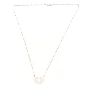 Cartier C Heart de Cartier Pendant Necklace 18K White Gold