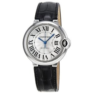 Cartier Ballon Bleu W69017Z Stainless Steel 36mm Men's Watch