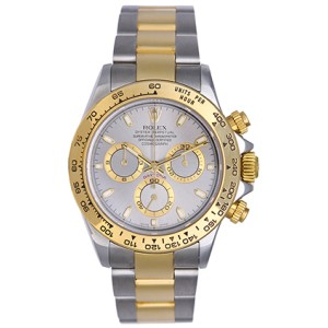 Rolex Cosmograph Daytona 116523 Stainless Steel & 18K Yellow Gold Automatic 40mm Men's Watch