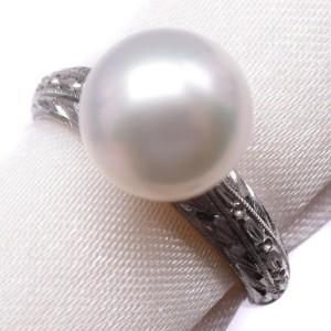 Platinum/Pearl Ring NST-379