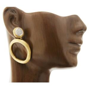 Marco Bicego 18K Yellow Gold 0.29ctw Diamond Earrings