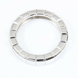 Chopard 18K White Gold Ice Cube Band Ring CHAT-579
